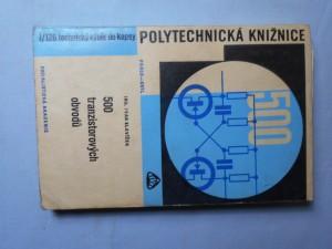 náhled knihy - 500 tranzistorových obvodů