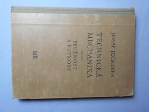 náhled knihy - Technická mechanika díl třetí : Pružnost a pevnost