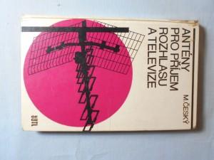 náhled knihy - Antény pro příjem rozhlasu a televize