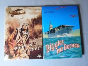 náhled knihy - Biggles v Africe, Biggles na Borneu