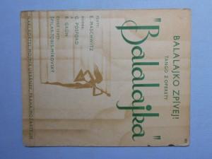 náhled knihy - Balalajko, zpívej : Tango z operety Balalajka