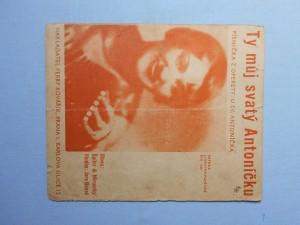 náhled knihy - Ty můj svatý Antoníčku : Písnička z operetty U sv. Antoníčka