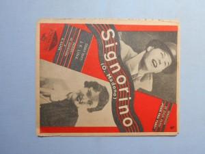 náhled knihy - Signorino : Serenáda z filmu Píseň pro tebe
