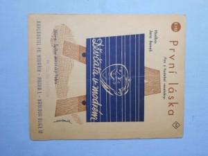 náhled knihy - První láska : Fox z hudební veselohry Děvčata v modrém