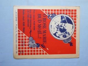 náhled knihy - Ó Rose Marie, buď mojí : Píseň a foxtrot