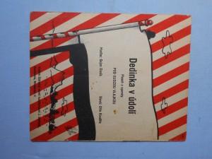 náhled knihy - Dedinka v údolí : Píseň z operety Pod cudzou vlajkou
