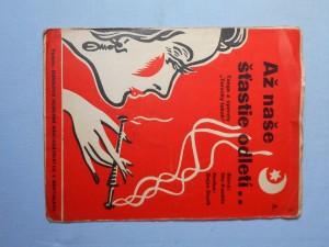 náhled knihy - Až naše šťastie odletí : Tango z operety Turecký tabák
