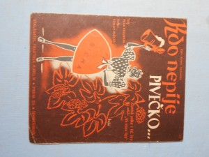 náhled knihy - Kdo nepije pivečko : Žíznivá polka z lidové hry Ve stínu lípy