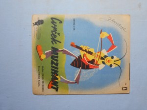 náhled knihy - Cvrček muzikant : Swing-fox