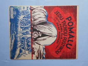 náhled knihy - Pomalu jedu tichou pustinou (Roll along covered wagon)