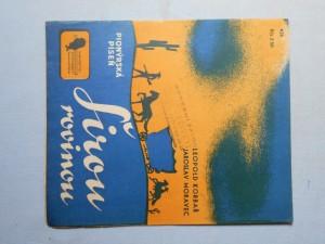 náhled knihy - Širou rovinou : Pionýrská píseň