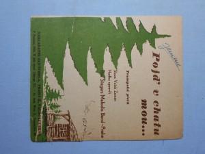 náhled knihy - Pojď v chatu mou : Trampská píseň