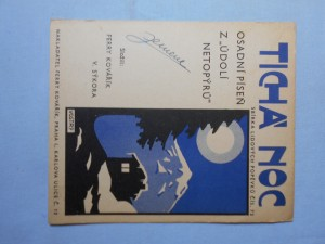 náhled knihy - Tichá noc : Trampská píseň osady Údolí netopýrů