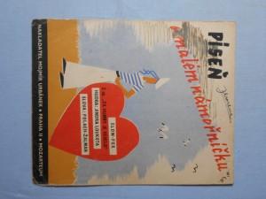 náhled knihy - Píseň o malém námořníčku : Píseň z operety Za humny je veselo
