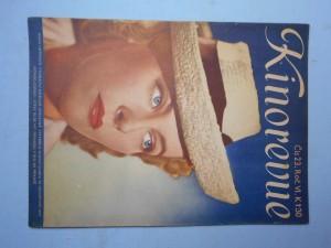 náhled knihy - Kinorevue: Obrázkový filmový týdeník, čís. 23., roč. VI.