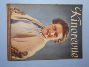 náhled knihy - Kinorevue: Obrázkový filmový týdeník, čís. 27., roč. IV.