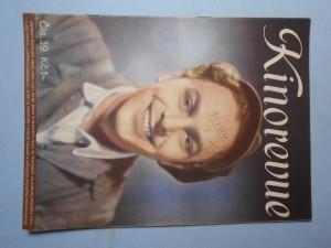 náhled knihy - Kinorevue: Obrázkový filmový týdeník, čís. 39.