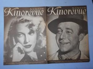 náhled knihy - Kinorevue: Obrázkový filmový týdeník, čís. 24., roč. IX.