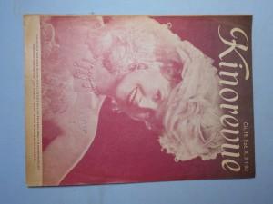 náhled knihy - Kinorevue: Obrázkový filmový týdeník, čís. 19., roč. X.