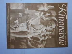 náhled knihy - Kinorevue: Obrázkový filmový týdeník, čís. 2., roč. X.