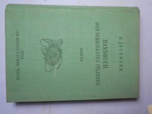 náhled knihy - Handbuch der sukkulenten Pflanzen. Bd. 3, Mesembryanthemaceae