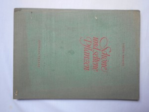 náhled knihy - Schöne und seltene pflanzen
