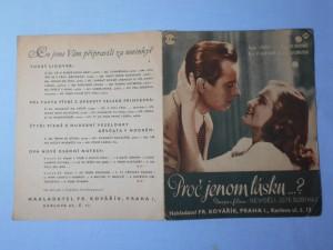 náhled knihy - Proč jenom lásku? : Píseň a tango z filmu Neviděli jste Bobíka? (režie Vl. Slavínský)