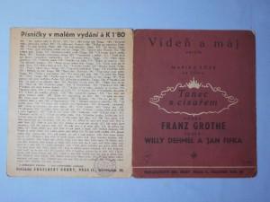 náhled knihy - Vídeň a máj! : Valčík z filmu Tanec s císařem
