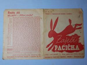 náhled knihy - Zaječí pacička : Foxtrot ze stejnojmenné hudební veselohry