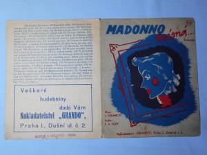 náhled knihy - Madono krásná : Serenáda
