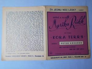 náhled knihy - Za jednu noc lásky : Foxtrot z filmu Kora Terry