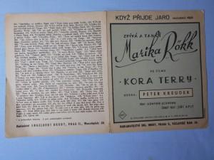 náhled knihy - Když přijde jaro : Maďarská píseň z filmu Kora Terry