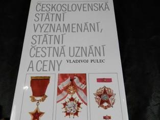 náhled knihy - Československá státní vyznamenání, státní čestná uznání a ceny