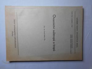 náhled knihy - Ovocnictví subtropů a tropů