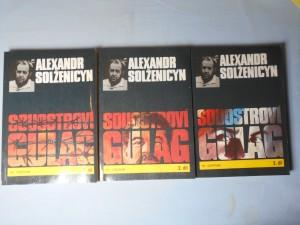 náhled knihy - Souostroví Gulag 1., 2., 3. díl