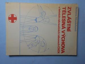 náhled knihy - Zvláštní tělesná výchova v letních rekreačních táborech Československého červeného kříže