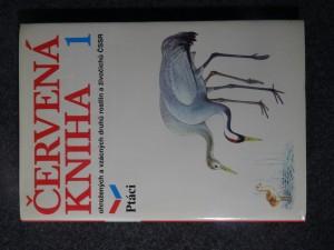 náhled knihy - Červená kniha ohrožených a vzácných druhů rostlin a živočichů ČSSR. 1, Ptáci