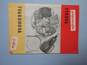 náhled knihy - Předpisy sýrových a tvarohových jídel