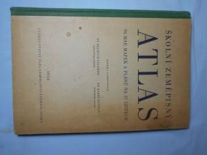 náhled knihy - Školní zeměpisný atlas : 94 map, mapek a plánů na 37 listech : Učeb. pomůcka pro šk. 2. a 3. stup. ... [a] pre šk. 2, a 3. stup. s vyučovacím jaz. slov.