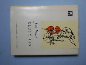 náhled knihy - Žlutý list : verše z let 1967-1971