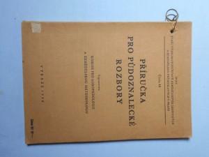 náhled knihy - Příručka pro půdoznalecké rozbory