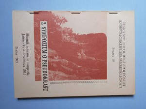 náhled knihy - 2. sympozium o pseudokrasu : Janovičky u Broumova 1985, Čes. speleologická společ. Praha : Sborník referát?