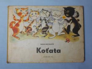 náhled knihy - Koťata