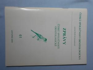 náhled knihy - Zprávy české společnosti ornitologické, 61