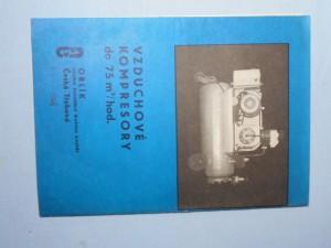 náhled knihy - Vzduchové kompresory do 75 m3/hod.