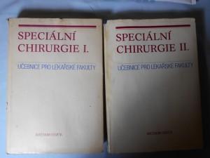náhled knihy - Speciální chirurgie 1., 2. : Učebnice pro lékařské fakulty