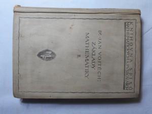 náhled knihy - Základy matematiky II. : Ke studiu věd přírodních a technických