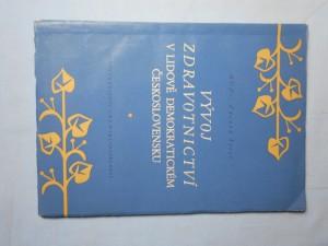 náhled knihy - Vývoj zdravotnictví v lidově demokratickém Československu