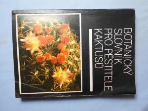 náhled knihy - Botanický slovník pro pěstitele kaktusů