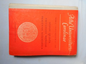 náhled knihy - Acta universitatis carolinae: Sessio quinta facultatis medicae pragensis scientifica
